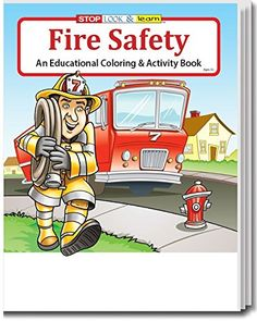 Coloring Book - Fire Safety Coloring & Activity Book - 50 Qty Safety Magnets http://www.amazon.com/dp/B014LH3ZGI/ref=cm_sw_r_pi_dp_DaP.wb1QFZV86