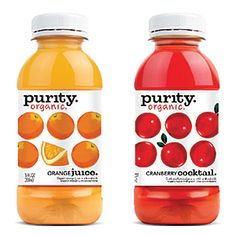 Purity Organic Juices unveiled the new rebranded design of Purity Organic packaging last month at the Winter Fancy Food Show in San Francisco.