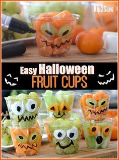 Fresh Fruit Halloween Cups (Easy & Fun Treat Idea) – Hip2Save
