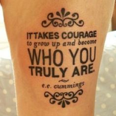 Inspirational and Meaningful Tattoo Quotes: Foot Tattoo Quote Design Ideas ~ randomkitty.net Tattoo Quotes Inspiration