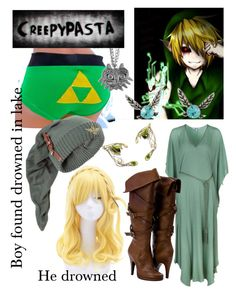 """""""Fem BEN drowned"""" by imortalsnail on Polyvore featuring Nintendo and Lazul"""