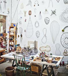 Art spaces - Mari Andrews studio