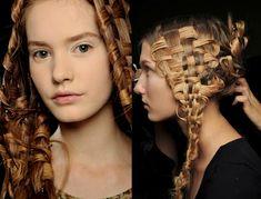 Amazing Hair For Alexander McQueen Spring 2011 by benita