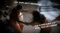 Season 5, Episode 25 - Pretty Little Liars Recap, Welcome to the Dollhouse - Spencer: I didn't start the fight, the quitter did! That's what you do, isn't it, Emily? When things are too much for you, you just throw in towel. You quit the swim team. You quit Paige. You quit things as easily as Zayn Malik quits One Direction. You even quit Maya!  *GASP* OH NO SHE DIN'NT!!!! Okay, I know this is a fake fight and all, but wow, that comment just crossed a line, two lines, three lines, all the…