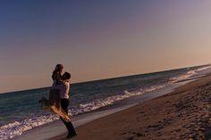 jolie séance d'engagement romantique