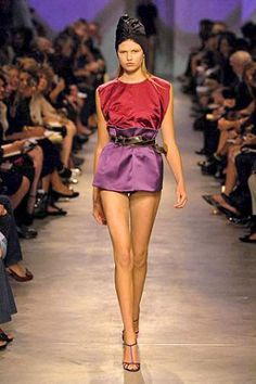 Hair trends - PRADA Spring 2007 Ready-to-Wear turban