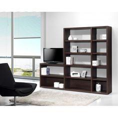Estantería lateral perforada 1029 #muebles #decoracion #interiorismo #estanterias #salon