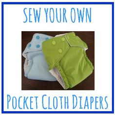 Erickson and Co.: {Tutorial} How to Sew a Pocket Diaper with Free Pattern and Photos