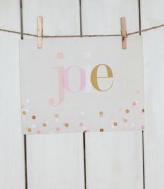 Joie Print