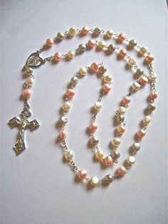 Cultured Pearl Rosary