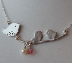 mama and baby birds. Must have, too cute!!