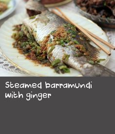 In this quick and easy recipe, whole fish is cooked in a microwave. It can also be cooked in a steamer on the stove. Easy Fish Recipes, Steamer, Cheesesteak, Quick Easy Meals, Microwave, Cooking, Stove, Ethnic Recipes, Food