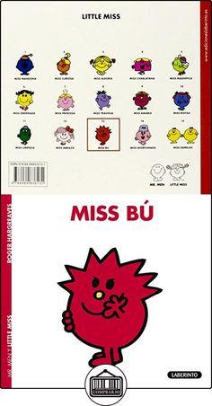 MISS BÚ (Mr. Men y Little Miss) ROGER HARGREAVES ✿ Libros infantiles y juveniles - (De 3 a 6 años) ✿ ▬► Ver oferta: http://comprar.io/goto/8484836134