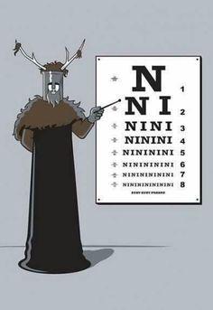 Monty Python Eye Exam