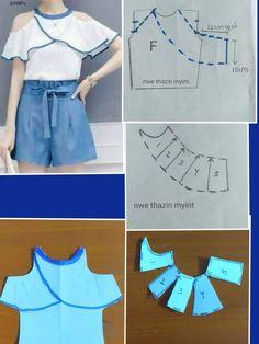 Elegant Photo of Custom Sewing Patterns Dress Sewing Patterns, Blouse Patterns, Sewing Patterns Free, Clothing Patterns, Coat Patterns, Fashion Sewing, Diy Fashion, Ideias Fashion, Moda Fashion