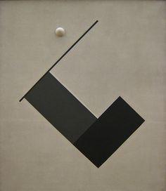 Friedrich Vordemberge-Gildewart, Composition no. 24, 1926
