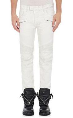 5493ec80 BALMAIN Biker Jeans. #balmain #cloth #jeans Balmain Biker Jeans, Balmain Men
