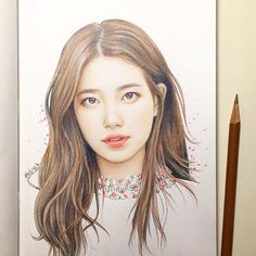 "Clare Kim di Instagram "" . . #art #drawing #makeup #pretty #cute #follow #wip #doodle #illustration #instaart #sketch #inspiration #hair #cool #love #baesuzy…"""
