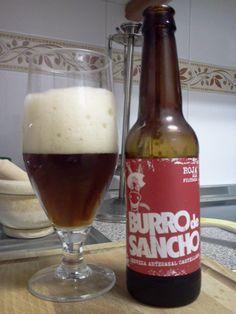 Burro de Sancho Roja es una cerveza artesanal ligera, de tono rojizo, tipo Ale y con sabor y aromas caramelizados y amargor floral.