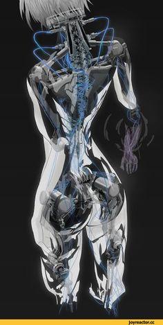 cyberpunk,art,арт,красивые картинки,Sci-Fi,барышня,cybergirl,длиннопост