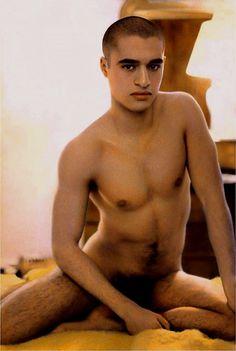ohthentic: Youssef Nabil, Amine, Paris 2001 Hand colored gelatin silver print Oh Gelatin Silver Print, Art Series, Male Figure, Male Form, Sexy Men, Gay, Nude, Paris, People