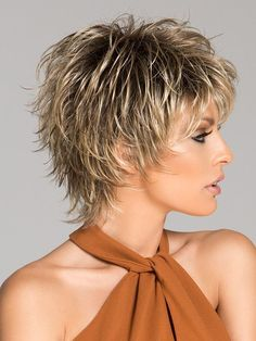 Women Short Wigs 2019 Flaxen Wave Curly Tousled Synthetic Wigs - coke - Image Sharing WorldPixie Short Choppy Hairstyles Over 50 short hairstylesUnique Short Hairstyles With Bangs For Thick Hair Short Hairstyles For Black Women Over 50 Shorter Short Shag Hairstyles, Short Layered Haircuts, Short Hairstyles For Women, Pixie Haircuts, Winter Hairstyles, Pixie Hairstyles, Wedding Hairstyles, Haircut Short, Hairstyles 2018