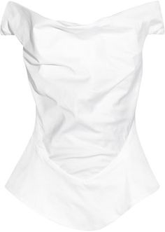 POPSUGAR Shopping: Vivienne WestwoodMarghi draped cotton top