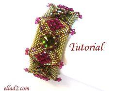 Tutorial Amaris Bracelet Beading TutorialBeading por Ellad2