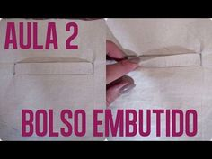 e575f34e4e Bolso embutido Aula 2 de BOLSOS Alana Santos Blogger