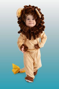 Cutest Cub Lion Infant Halloween Costume Even though your infant is just a cub, he is going to feel like a true king of the savannah http://www.buycostumes.com/p/811227/cutest-cub-lion-infant-costume?REF=SOC-Pinterest-Mktg16