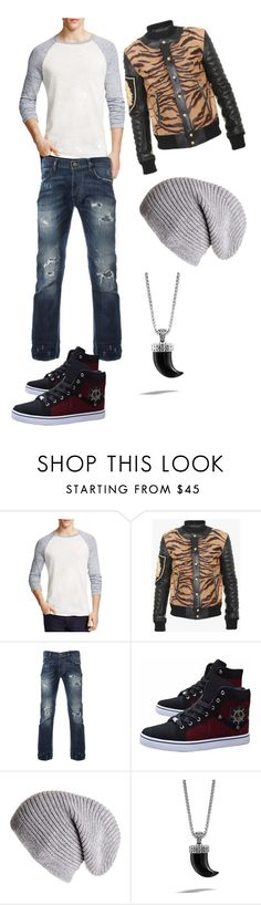 """""""12.30"""" by rasmus-herbst on Polyvore featuring Vince, Balmain, Black, John Hardy, men's fashion and menswear"""