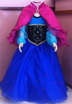 Fantasia Anna Frozen, Ana Frozen, Frozen Birthday Theme, Frozen Party, Minnie Mouse Toys, American Quarter Horse, Doll Clothes, Halloween, Gowns