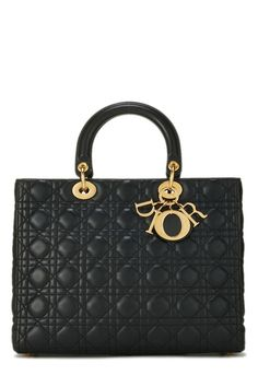 Dior Purses, Dior Handbags, Large Handbags, Black Handbags, Purses And Handbags, Leather Handbags, Dior Bags, Luxury Purses, Luxury Bags