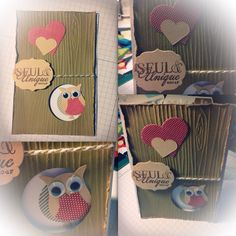 Stampin up tree and owl  Card  Made by Lyly on FB