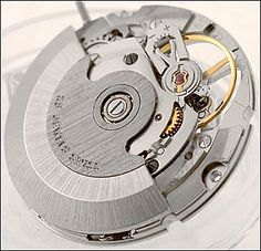 ETA 2824-2 exposed balance wheel