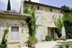 Provence France stone facade by James Basson