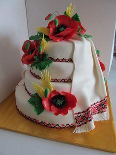 Ukraine wedding cake