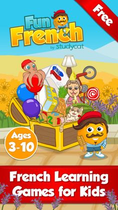Fun French learning games for kids