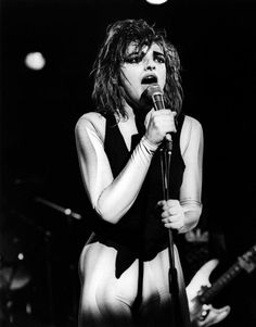 you so skinnyNina Hagen on stage by Gijsbert Hanekroot, Amsterdam, 1978