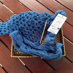 Organic Cotton Yarn, Mood Indigo, Fair Trade, Crochet Patterns, Weaving, Plant, Australia, Seasons, Knitting