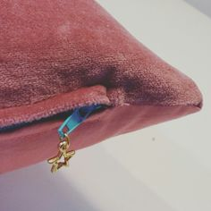 Charm details - on all zippered products