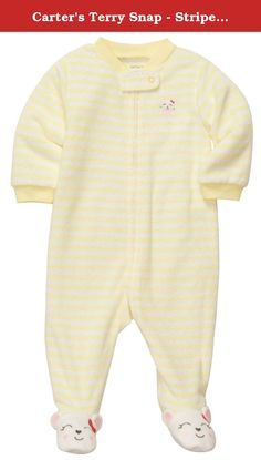 Carter's Terry Snap - Stripe Mouse- 6 Months. Carters Terry Snap - Stripe Mouse Carter's is the leading brand of children's clothing, gifts and accessories in America, selling more than 10 products for every child born in the U.S. The designs are based on a heritage of quality and innovation that has earned them the trust of generations of families.