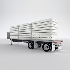 Compact Units Loaded on a Truck. Image Courtesy of Designnobis