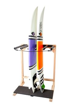 SUP Foamy - 3 Board Stand Up Paddle / Longboard Rack