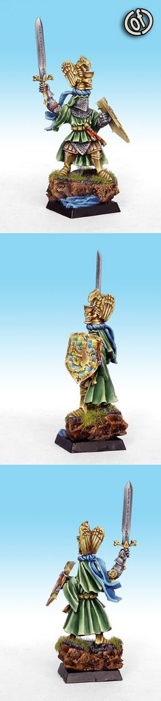 Bretonnian Hero on Foot