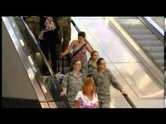 [VIDEO] Airman Surprises Girlfriend Returning from Afghanistan, Then Proposes