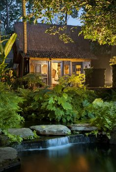 Bambu Indah - Udang House at night - Djuna Ivereigh