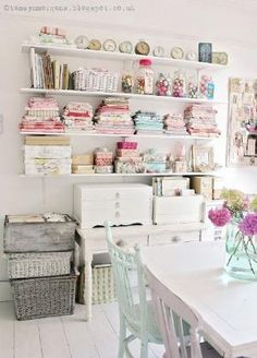 The Villa on Mount Pleasant: Craft Room Update by sybil