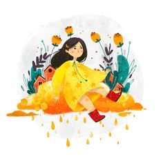Autumn Illustrations by Chaos Ego