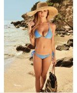 Meli Beach Swimwear Classic Triangle Top Thalassa
